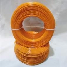 PET-G Оранжевый. Без катушки.