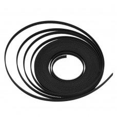 Лента зубчатая GT2-6mm, черная, 1 метр