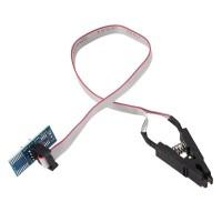 Прищепка для SOP-8 с кабелем и переходником