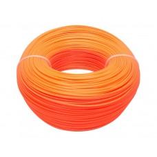 ABS 1 кг.  Оранжевый, 1.75 мм.