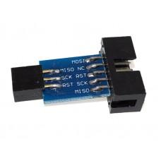 AVRISP/USBasp/STK500 переходник с 10PIN на 6PIN