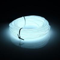 Неоновый шнур 5 мм (El-Wire) Белый