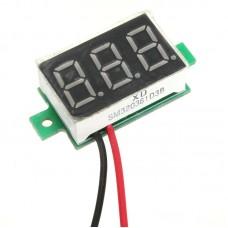 """Цифровой вольтметр 0.36""""DC4.5-30V"""