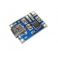 tp4056 модуль заряда аккумуляторов 18650 с предохранителем и Micro USB