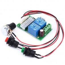 ШИМ-регулятор скорости двигателя постоянного тока 6V12V24V с реверсом направления 3А