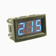 Вольтметр для переменного тока, синий экран  AC 70-500 В