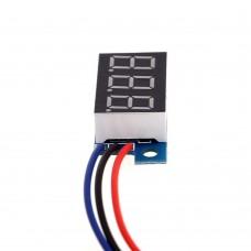 """Цифровой вольтметр 0.28"""" DC0-100V"""