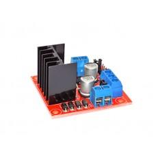 Модуль драйвера L298N для управления шаговым или коллекторным мотором