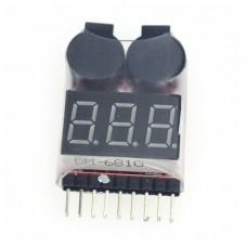 Индикатор заряда аккумулятора (1-8S)