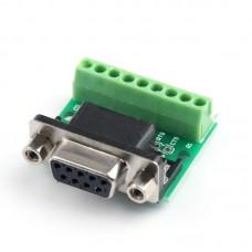 9 контактный переходник RS232 на RS485