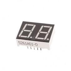 Семисегментный индикатор 2 символа 0.56