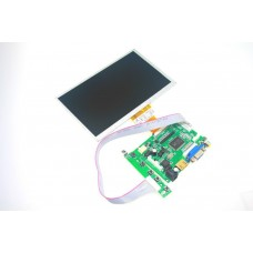 "7"" Raspberry Pi монитор 800*480 TFT HDMI VGA  2AV"