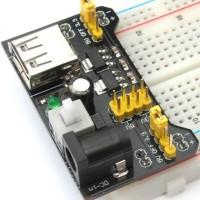 Модуль подачи питания на макетную плату MB102