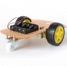 Набор шасси робота 2 привода 3 колеса
