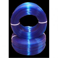 PET-G Синий-Прозрачный. Без катушки.