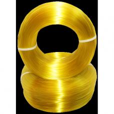 PET-G  Желтый-Прозрачный. Без катушки.
