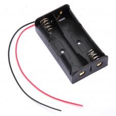 Бокс для 2-х батареек-аккумуляторов типа 18650