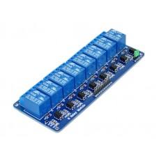 Модуль реле 5В с опторазвязкой 8 канальный