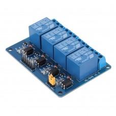 Модуль реле 5В с опторазвязкой 4-х канальный