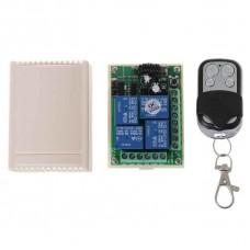 Модуль управления 4 реле 433 МГц, 1 пульт