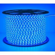 Светодиодная лента 220V. IP67. Цвет: Синий